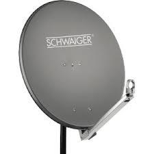 Schwaiger SPI710.1 Alu-Spiegel 75cm Satellitenantenne für 106,96 Euro