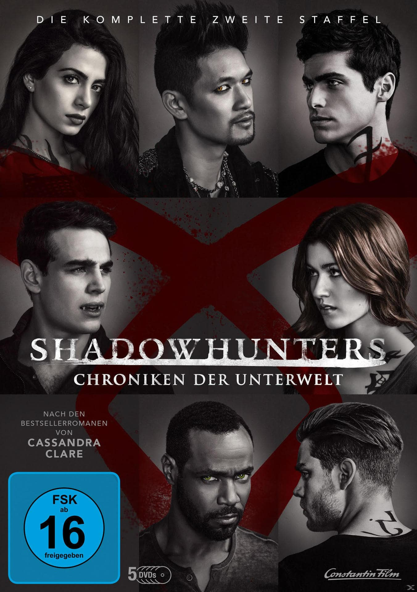 Shadowhunters - Chroniken der Unterwelt - Staffel 2 DVD-Box (DVD) für 23,46 Euro