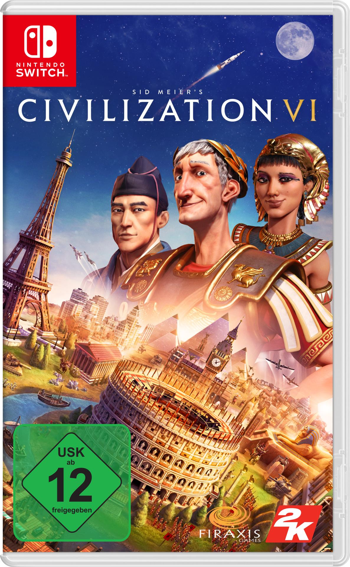 Sid Meier's Civilization VI (Nintendo Switch) für 30,46 Euro