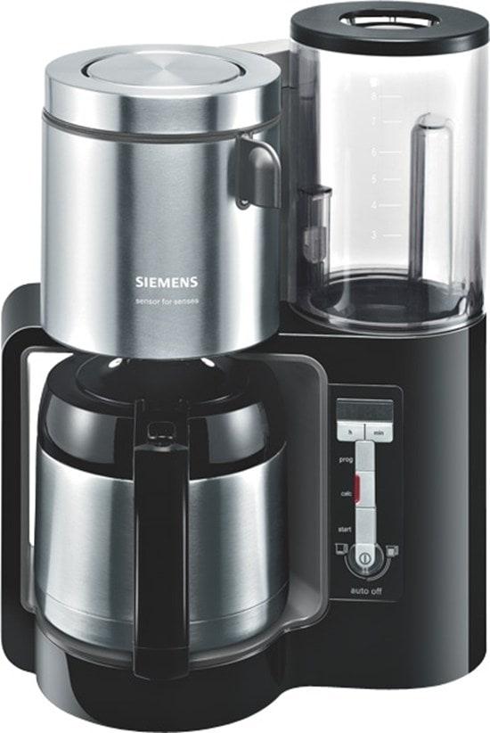 Siemens TC86503 Thermo-Filterkaffeemaschine 1100W 8/12 Tassen für 89,46 Euro