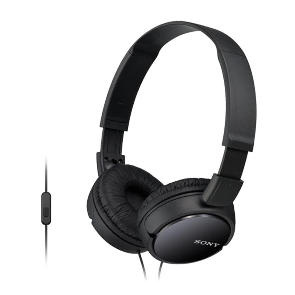 Sony MDR-ZX110AP Kopfhörer mit integrierter Fernbedienung/Mikrofon Android für 20,46 Euro