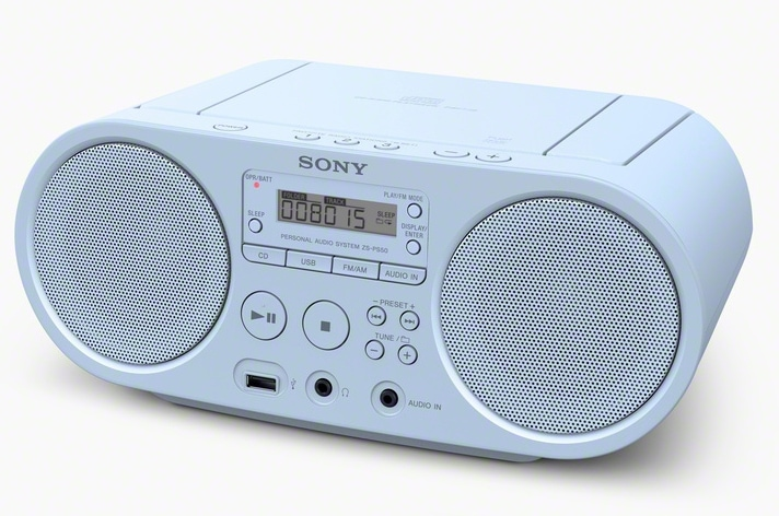 Sony ZS-PS50 Boombox UKW MW USB CD MP3-CD für 72,96 Euro