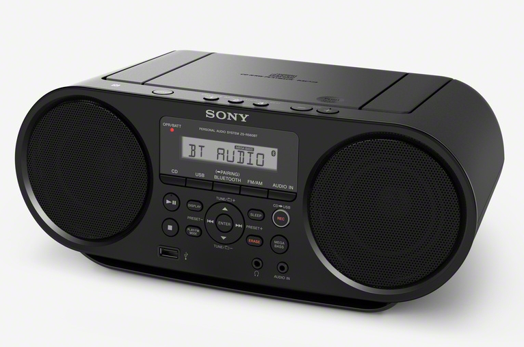 Sony ZS-RS60BT CD Payer AM,FM Radio für 101,96 Euro