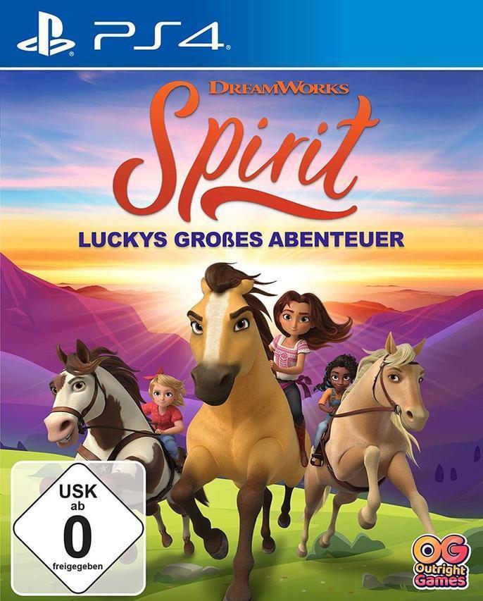 Spirit: Luckys großes Abenteuer (PlayStation 4) für 38,96 Euro
