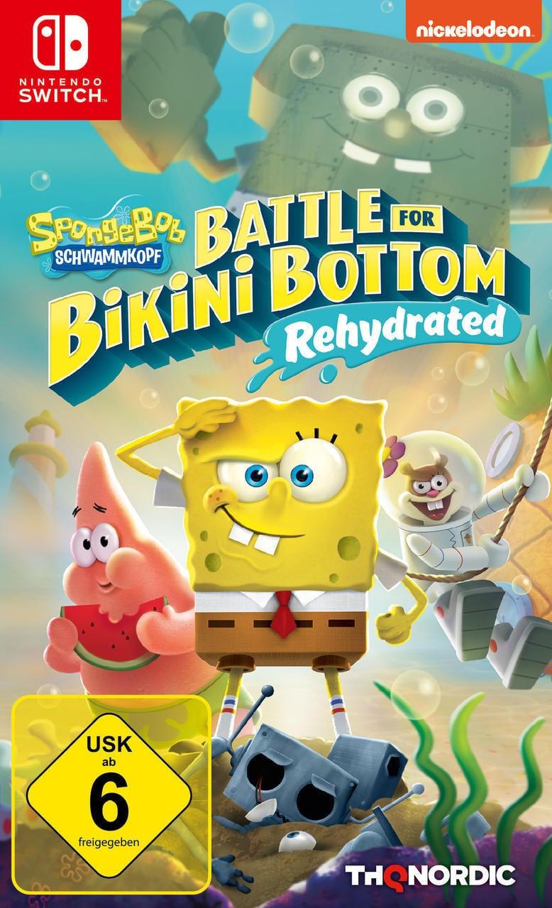 Spongebob SquarePants: Battle for Bikini Bottom - Rehydrated (Nintendo Switch) für 30,46 Euro