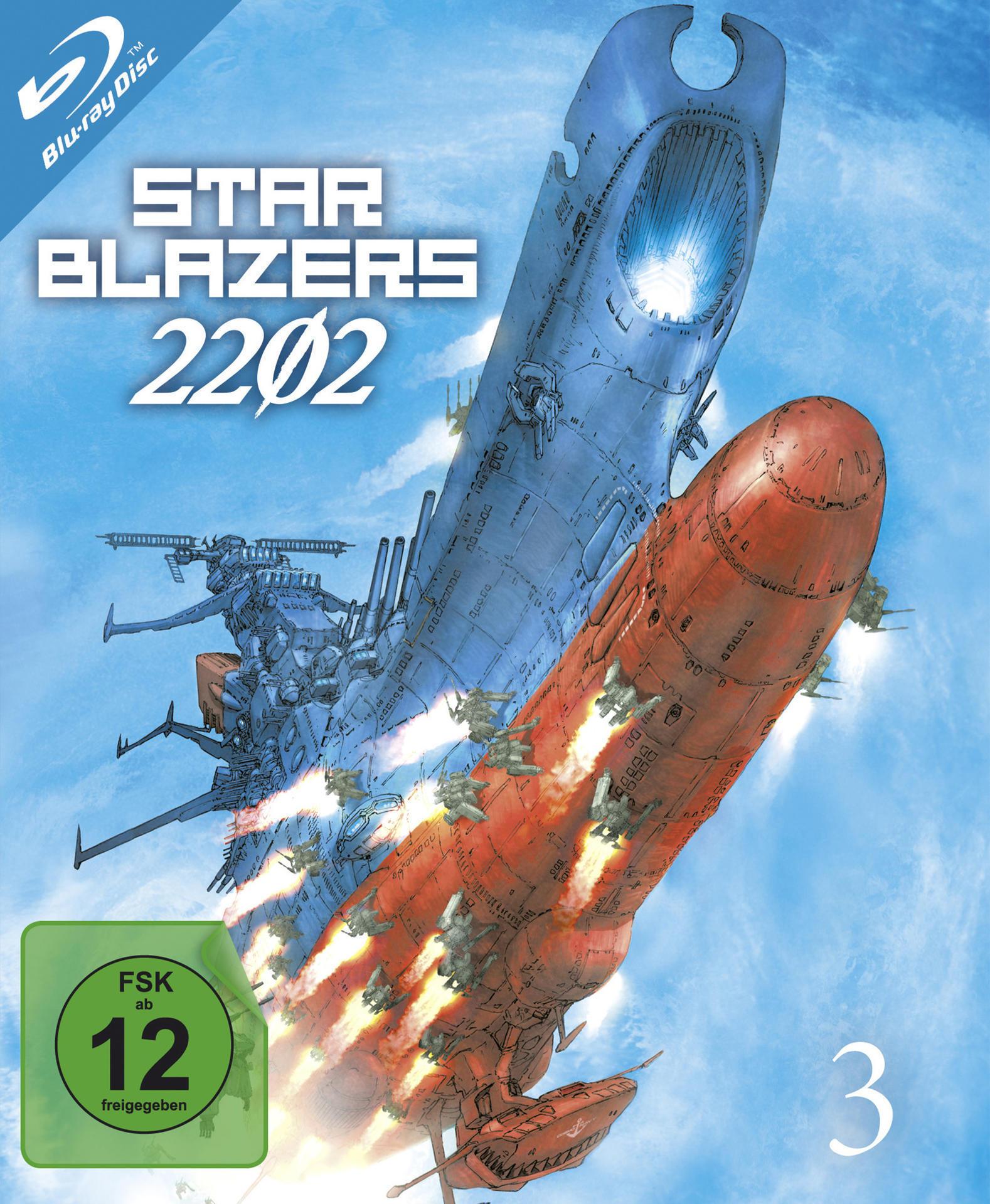 Star Blazers 2202 - Space Battleship Yamato - Vol.3 (BLU-RAY) für 41,96 Euro