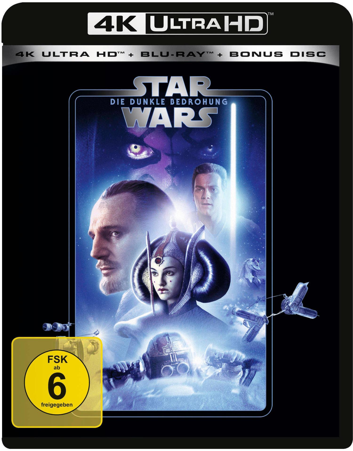 Star Wars: Episode I - Die dunkle Bedrohung (4K Ultra HD BLU-RAY + BLU-RAY) für 33,96 Euro