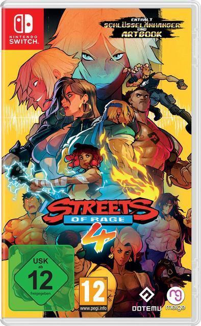 Streets of Rage 4 (Nintendo Switch) für 41,96 Euro