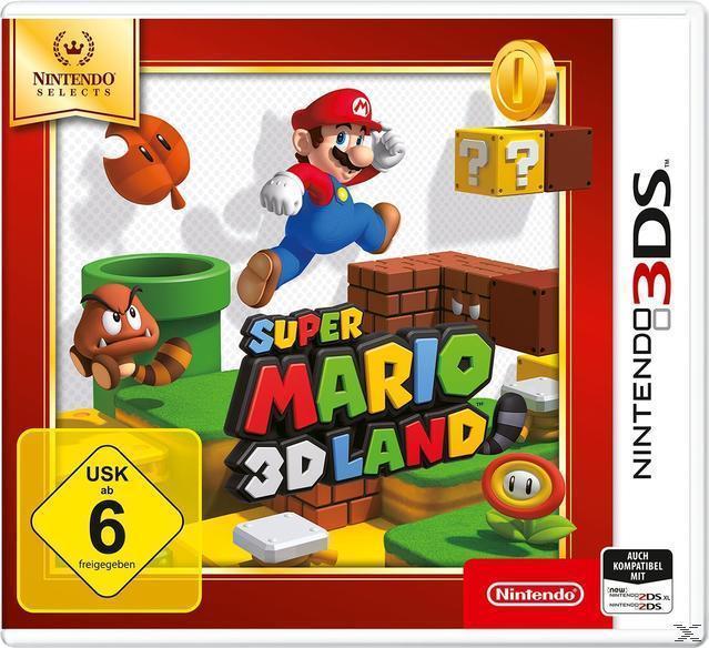 Super Mario 3D Land (Nintendo Selects) (Nintendo 3DS) für 21,46 Euro