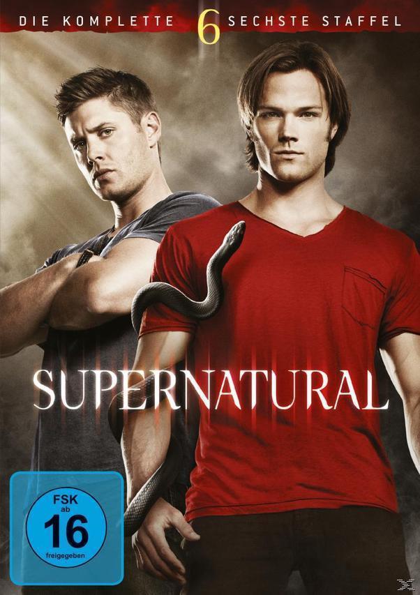 Supernatural - Die komplette 6. Staffel DVD-Box (DVD) für 19,96 Euro