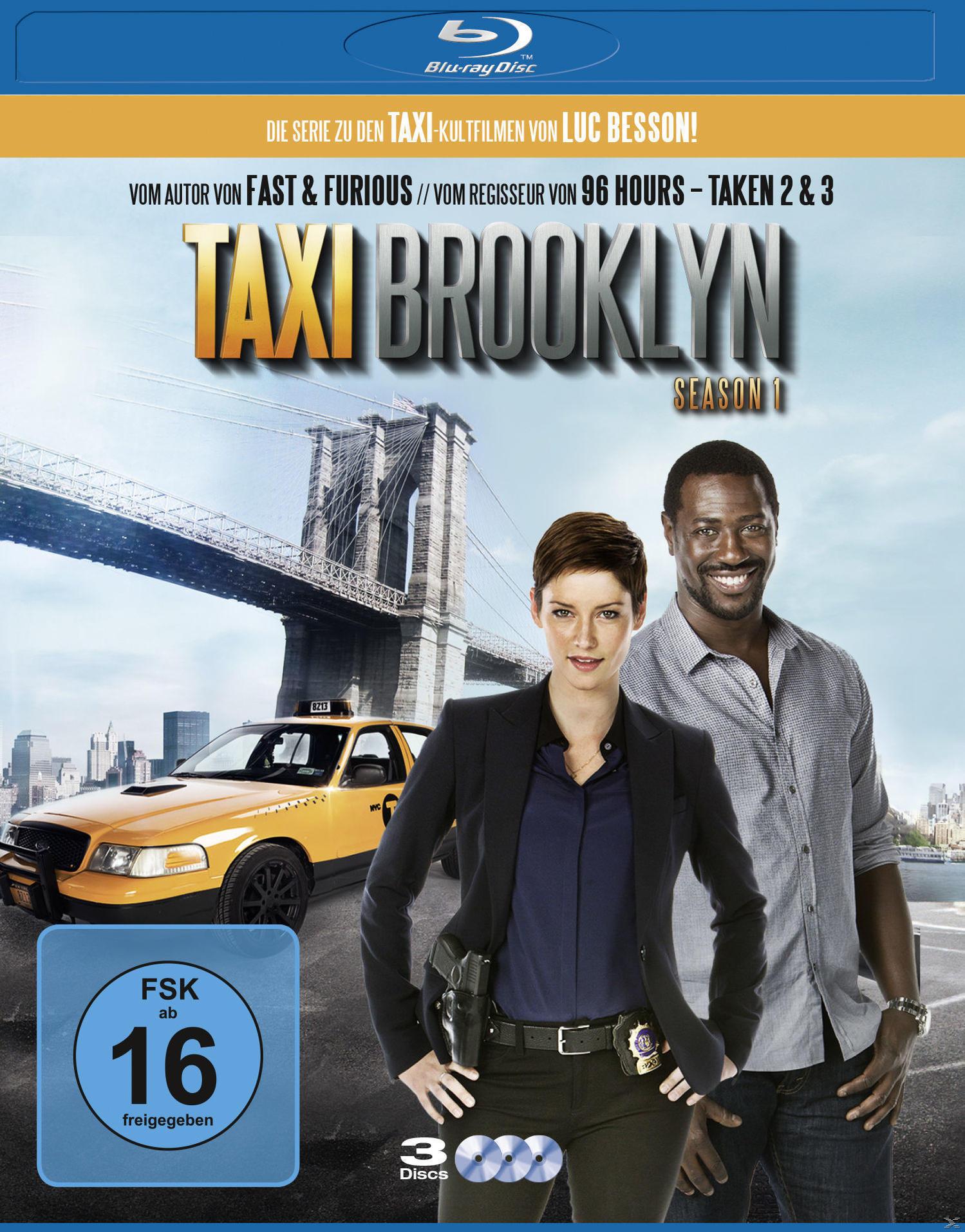Taxi Brooklyn - Staffel 1 Bluray Box (BLU-RAY) für 27,46 Euro