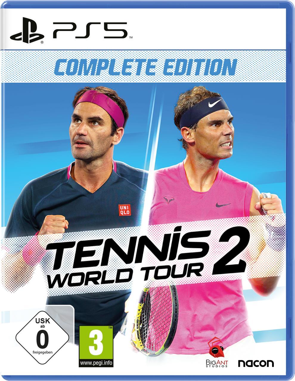 Tennis World Tour 2 - Complete Edition (PlayStation 5) für 45,96 Euro