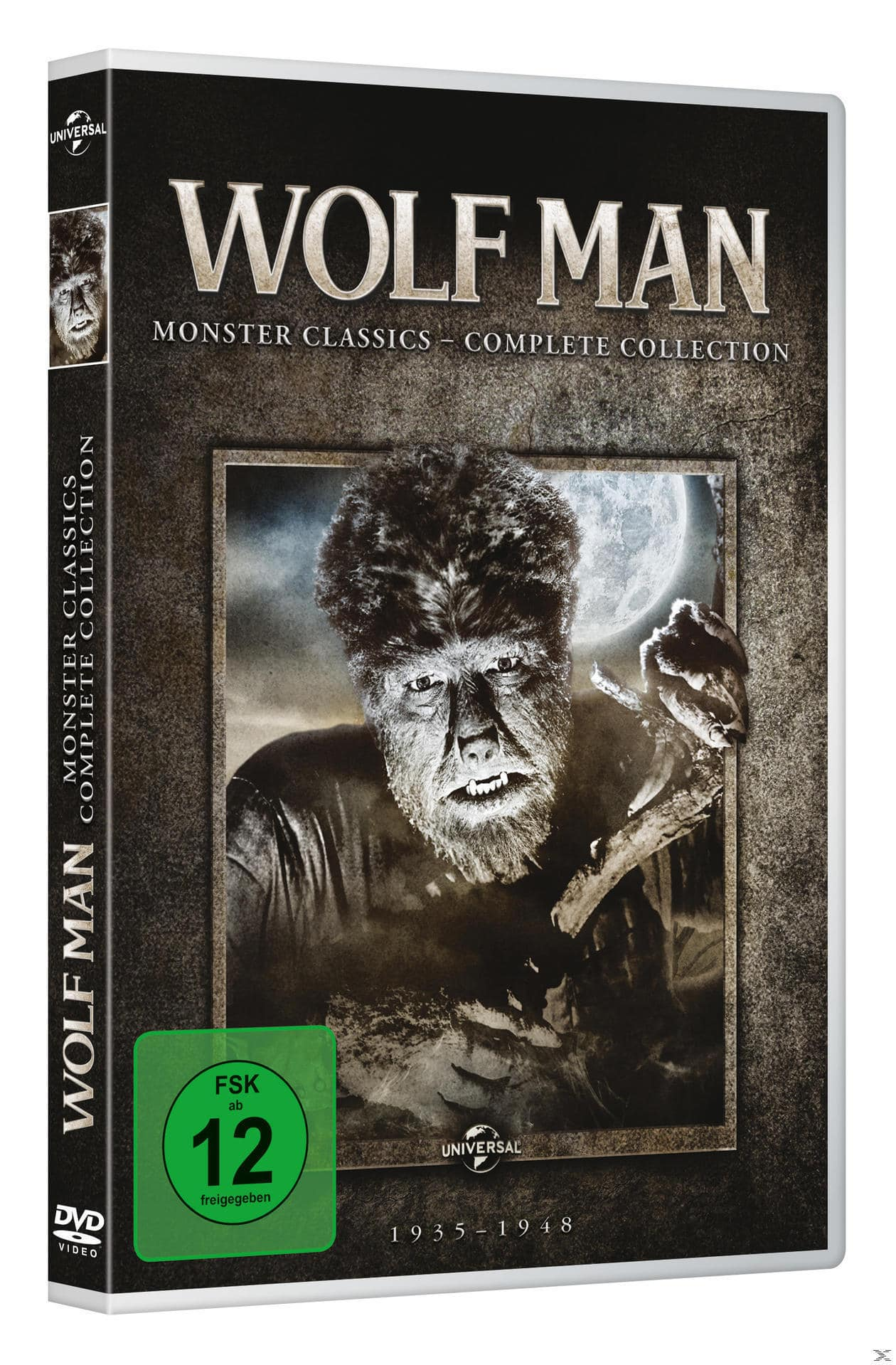 The Wolf Man: Monster Classics - Complete Collection DVD-Box (DVD) für 27,96 Euro