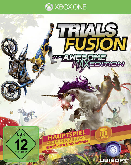 Trials Fusion: The Awesome Max Edition (Xbox One) für 38,96 Euro