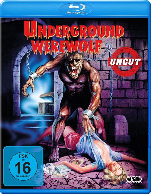 Underground Werewolf Uncut Edition (BLU-RAY) für 18,96 Euro