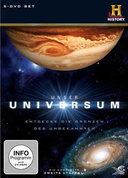 Unser Universum - Season 2 (DVD) für 22,46 Euro