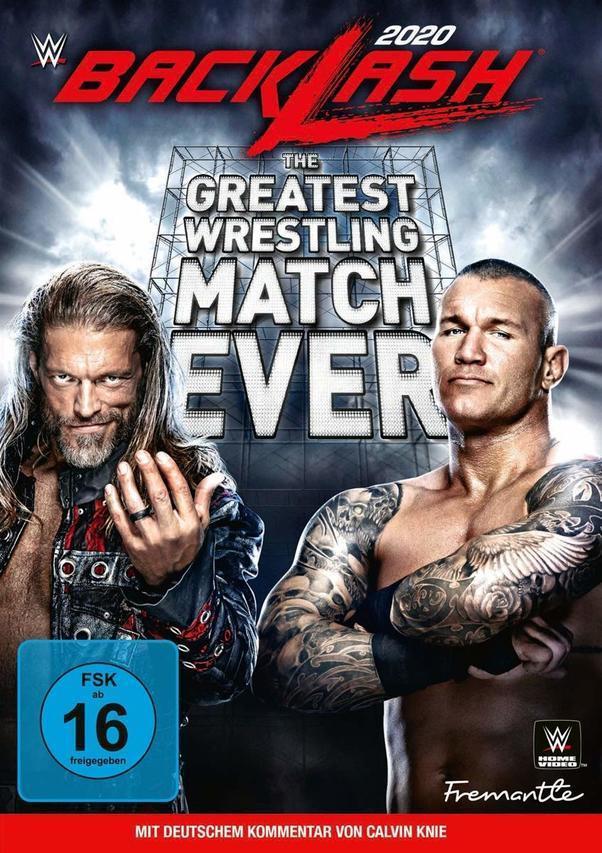 WWE: Backlash 2020 (DVD) für 19,96 Euro